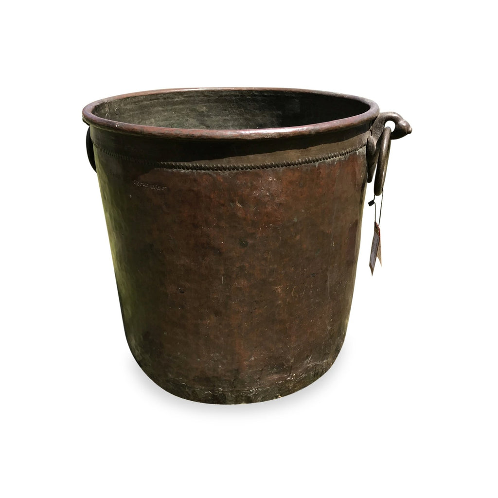 Brass And Copper Water Pot from Kerala - 19thC
