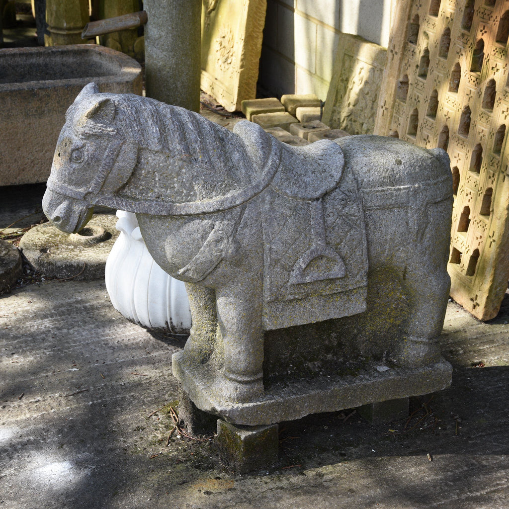 Carved Stone Horse from Hebei Province