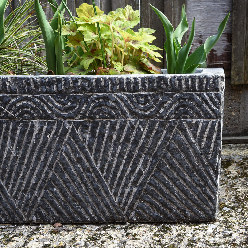 Carved Stone Trough From Hebei Province