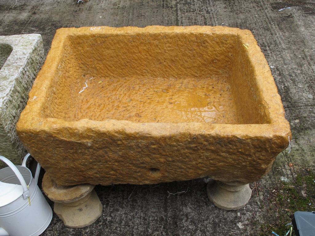 Carved Stone Water Trough - 19thC