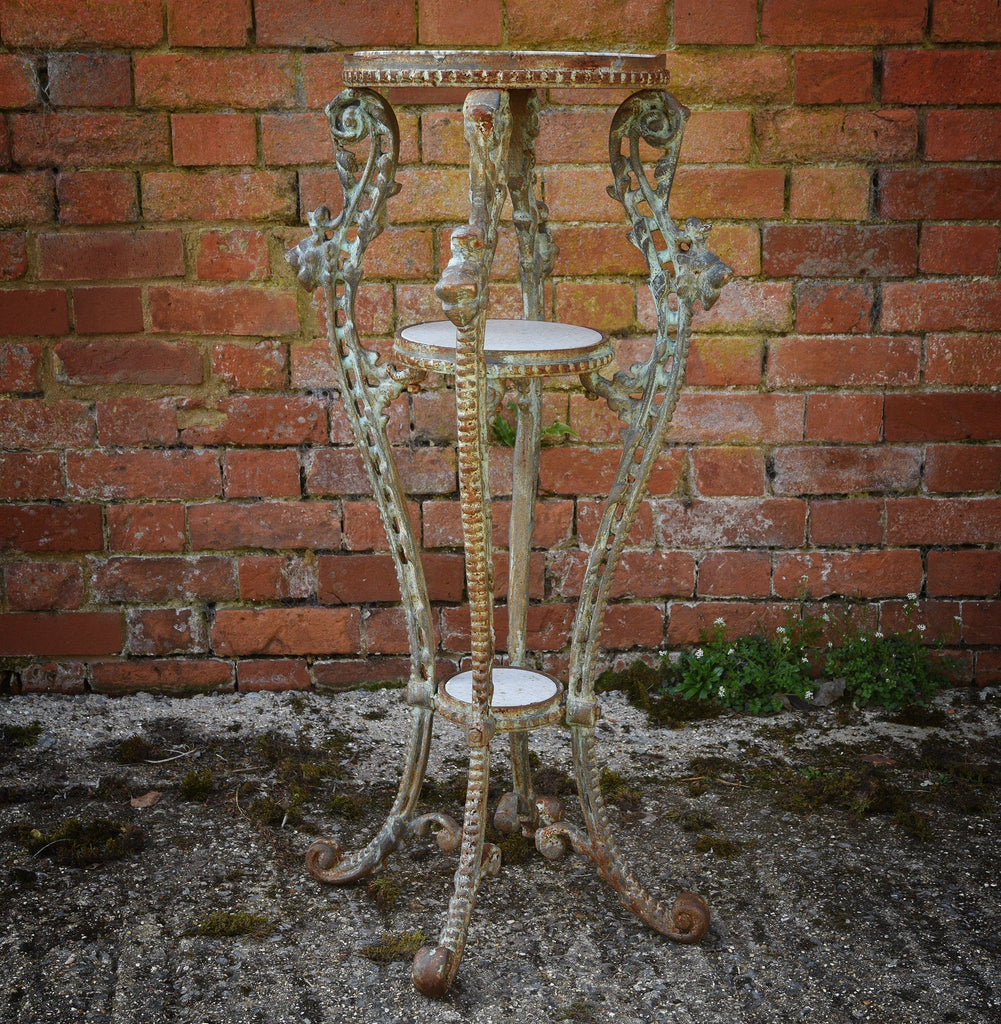 Cast Iron 3 Tier Plant Stand