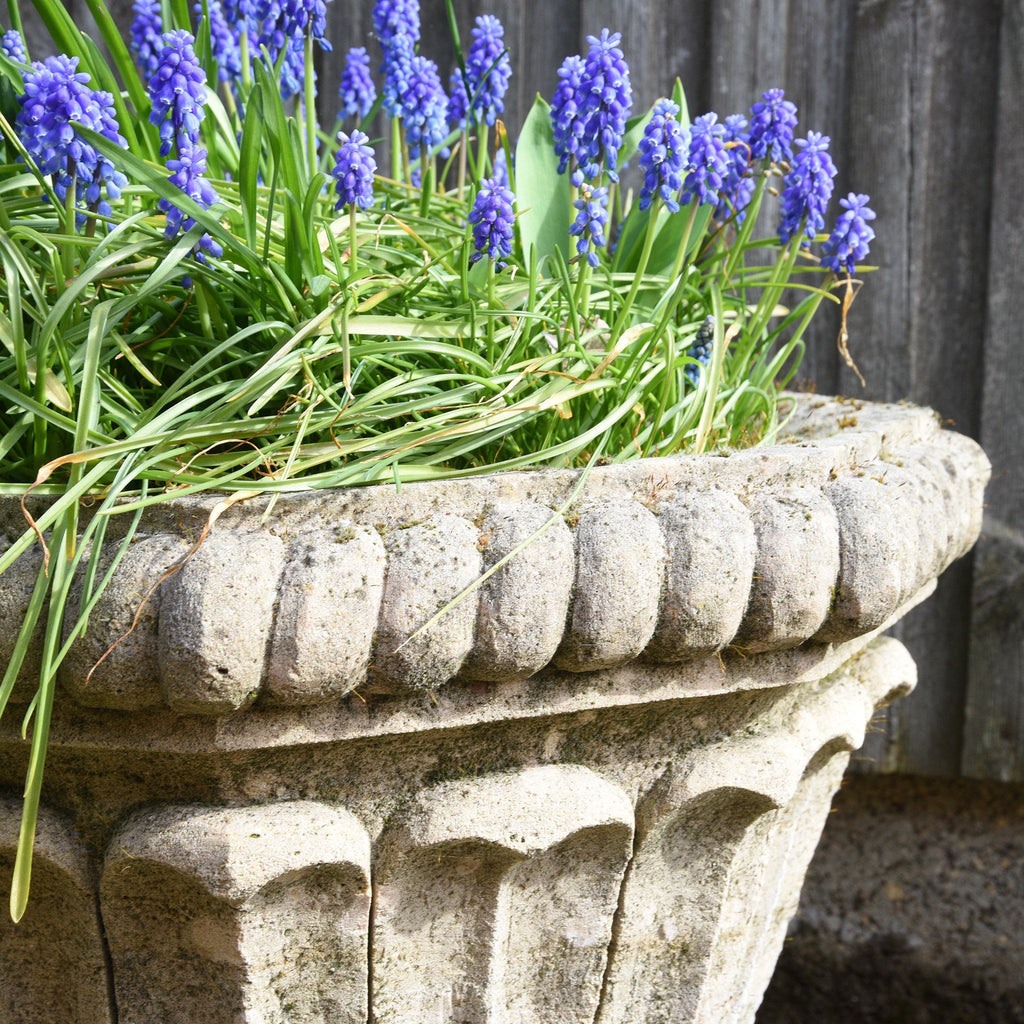 Hand Carved Stone Planter