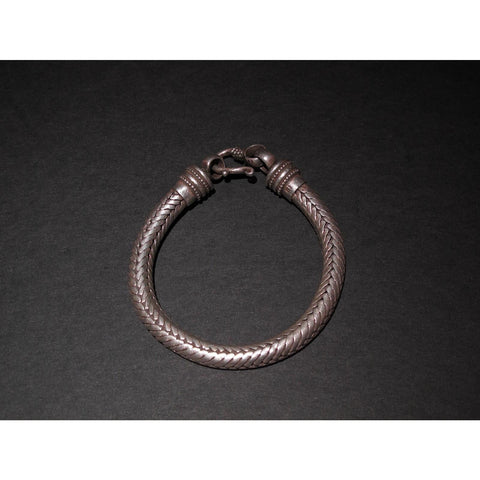Tribal Snake Bangle From Rajasthan 14 gms