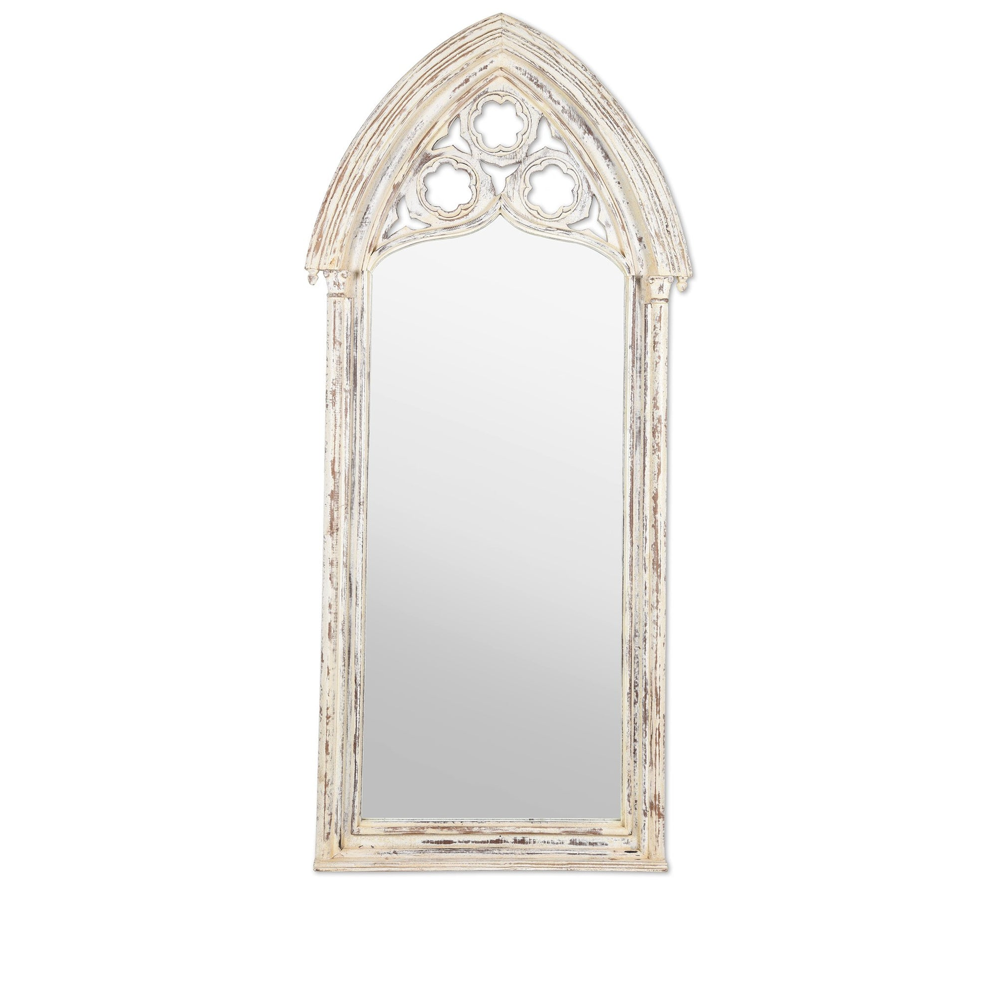 Gothic Style Full Length Mirror | Indigo Oriental Antiques