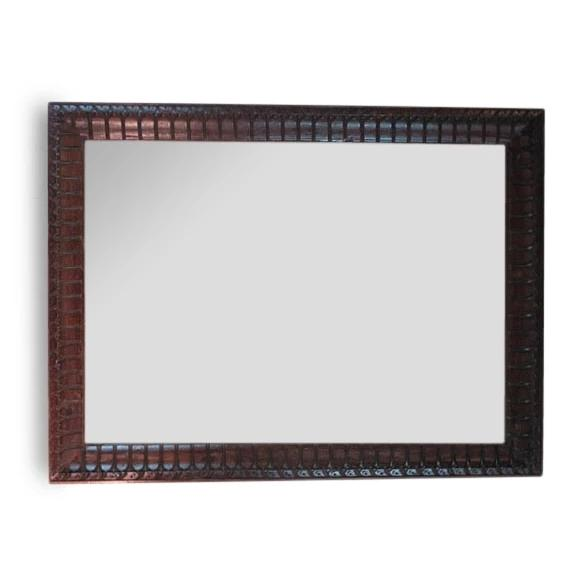 Mirror Made from Reclaimed Teak