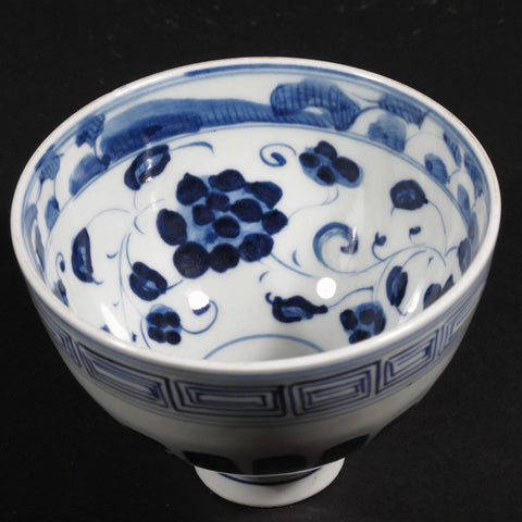 Blue & White Porcelain Rice Bowl