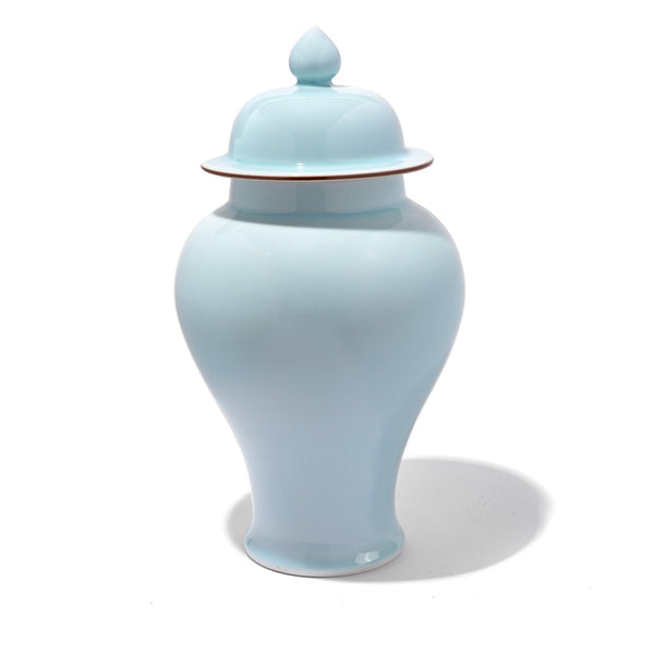 Celadon Porcelain Temple Jar