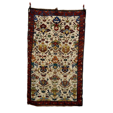 Daghestan Ivory Field Rug, North East Caucasus - Ca 1950