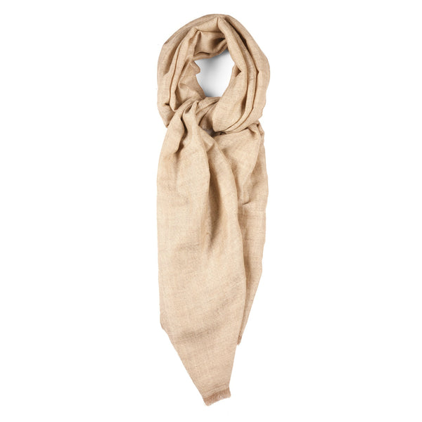Pashloom Himalayan Cashmere Scarf with Silver Thread