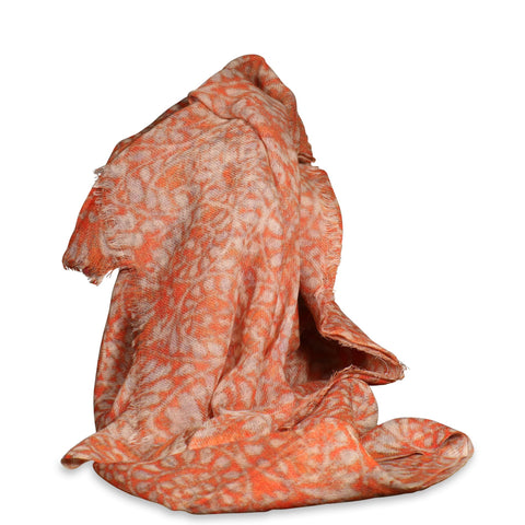 Soft Printed Wool Scarf