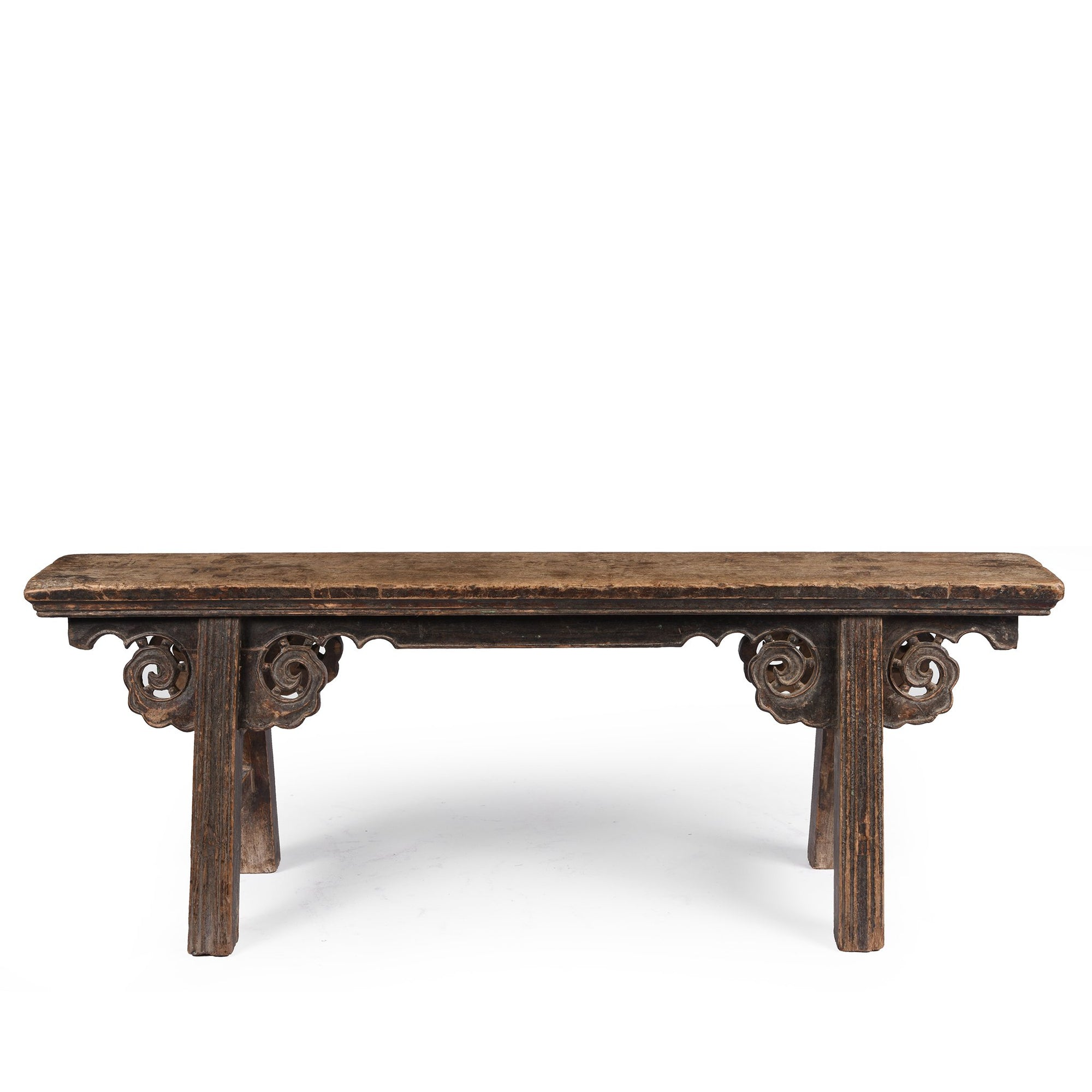 Chinese Spring Bench From Shanxi - 19thC