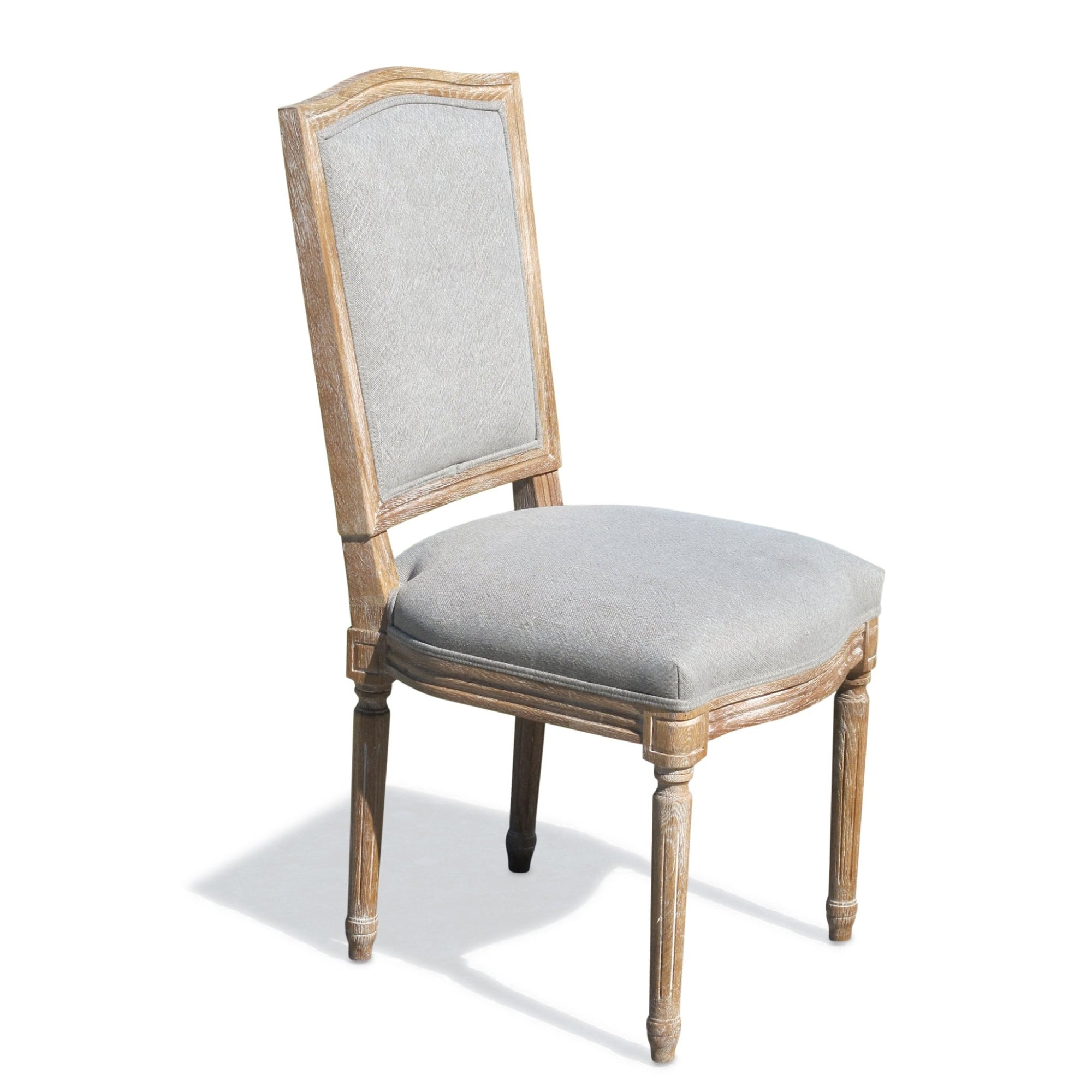 Classical Pale Oak Dining Chair | Indigo Oriental Antiques