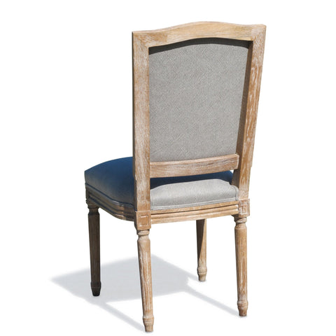 Classical Pale Oak Dining Chair