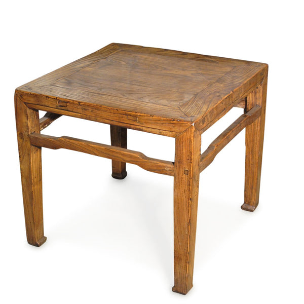 Elm Side Table From Shanxi - 19thC