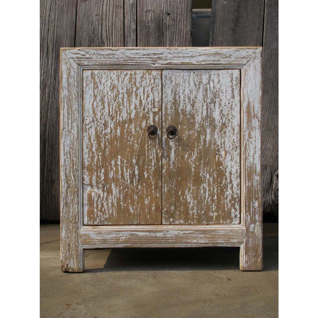 Chinese Sideboard Made From Reclaimed Painted Pine - 2 doors