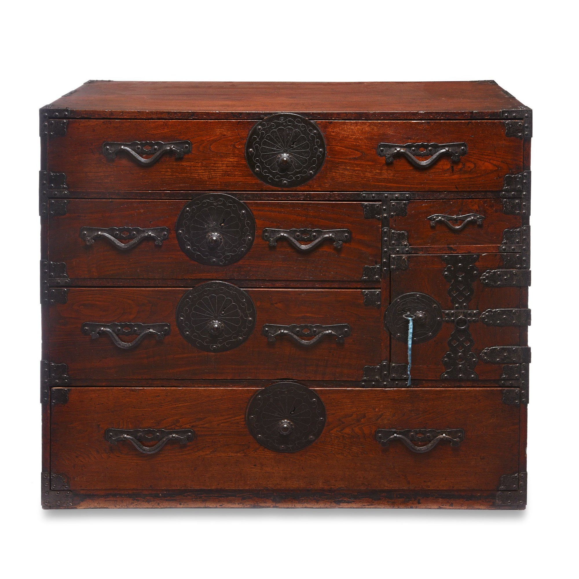 Japanese Side Tansu - Edo Period | Indigo Antiques