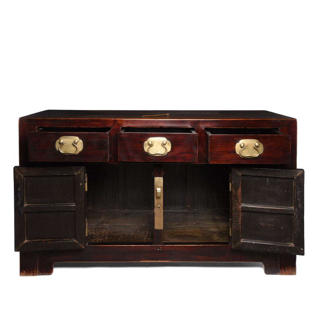 Lacquer Sideboard From Tianjin - Catalpa - 19thC