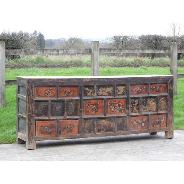 Painted Sideboard  - Chest of Drawers from Gansu