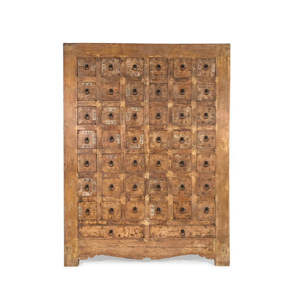 Apothecary Chest From Hebei Province - 19thC