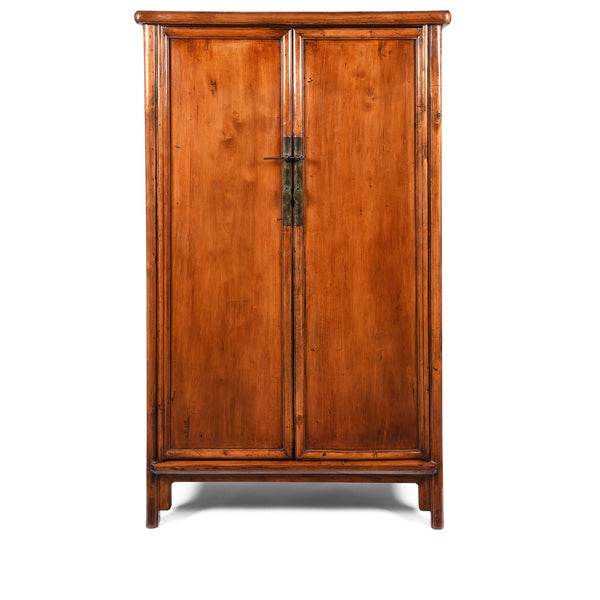 Chinese Ming Style Cypress Cabinet - 19thC