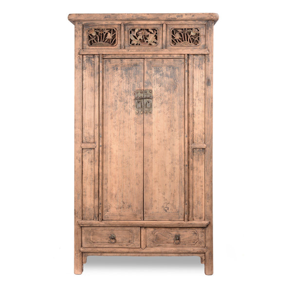 Elm Chinese Cabinet From Shanxi - 19thC