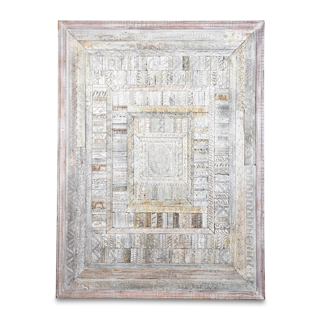 Decorative Panels Made From Old Architectural Carvings