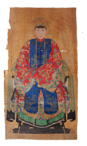 Painting of The Empress Dowager Cixi