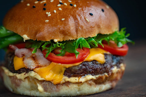 A burger maybe comfort food, but not health food, which is why we suggest finding comfort with CBD.
