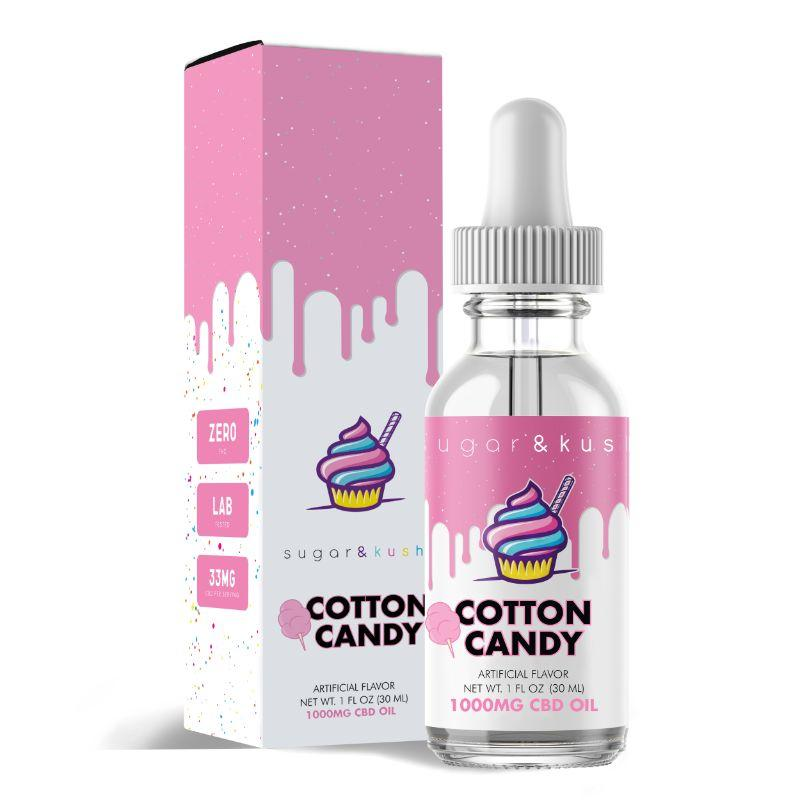 Cotton Candy CBD Oil Drop