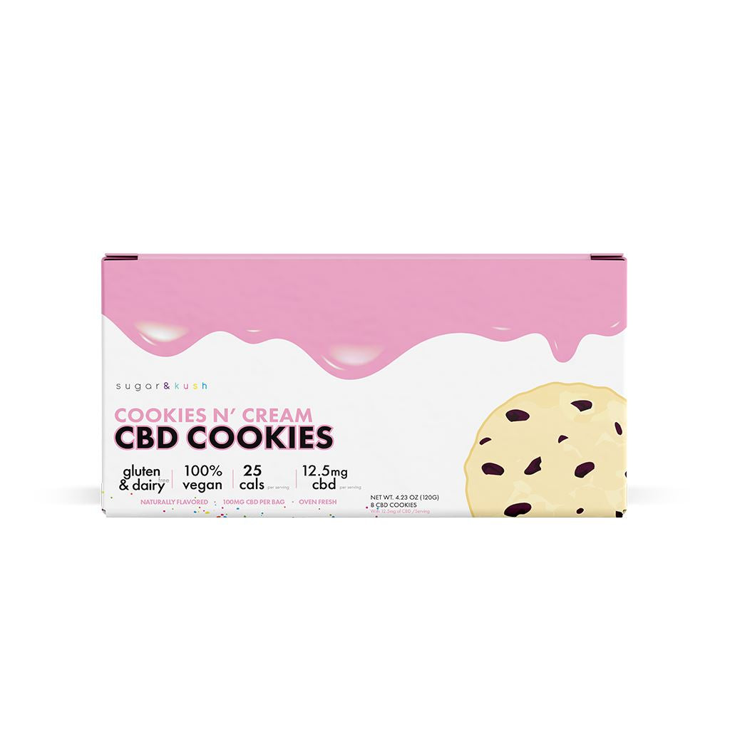 Shop top rated Cookies and Cream CBD  and Keto CBD Cookies from Sugar & Kush cbd. Be Stress-free cbd and sugar with Sugar & Kush discounts.