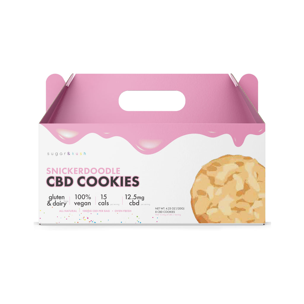 Variety Pack (3 Cookie Flavors) - Out of Stock - Sugar & Kush CBD Oil Products