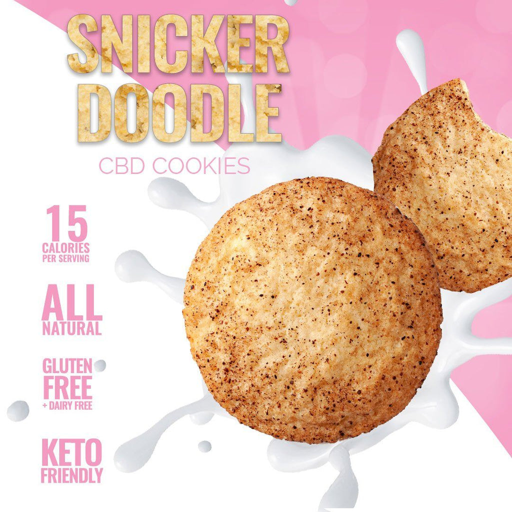 Snickerdoodle CBD Cookies - Sugar & Kush CBD Oil Products