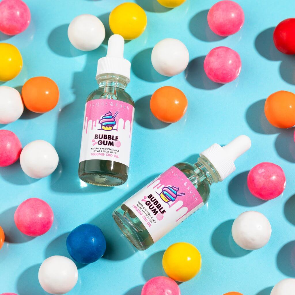Bubble Gum CBD Oil Drop - Sugar & Kush CBD Oil Products