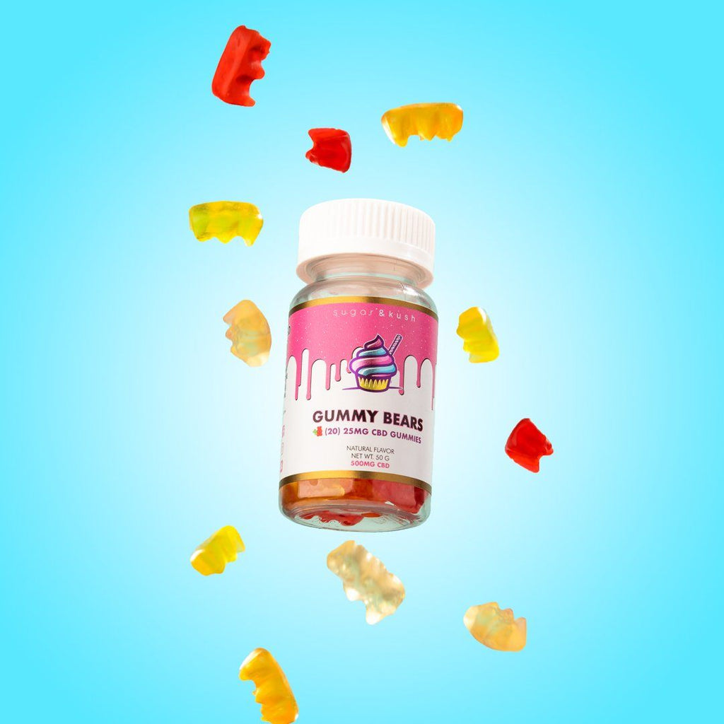 CBD Gummies (750mg) - Sugar & Kush CBD Oil Products