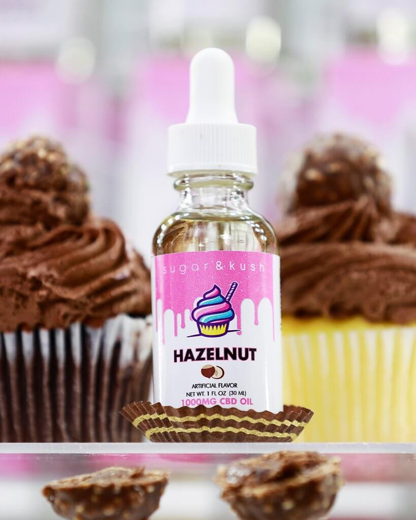 Hazelnut CBD Oil Drops - Sugar & Kush CBD Oil Products
