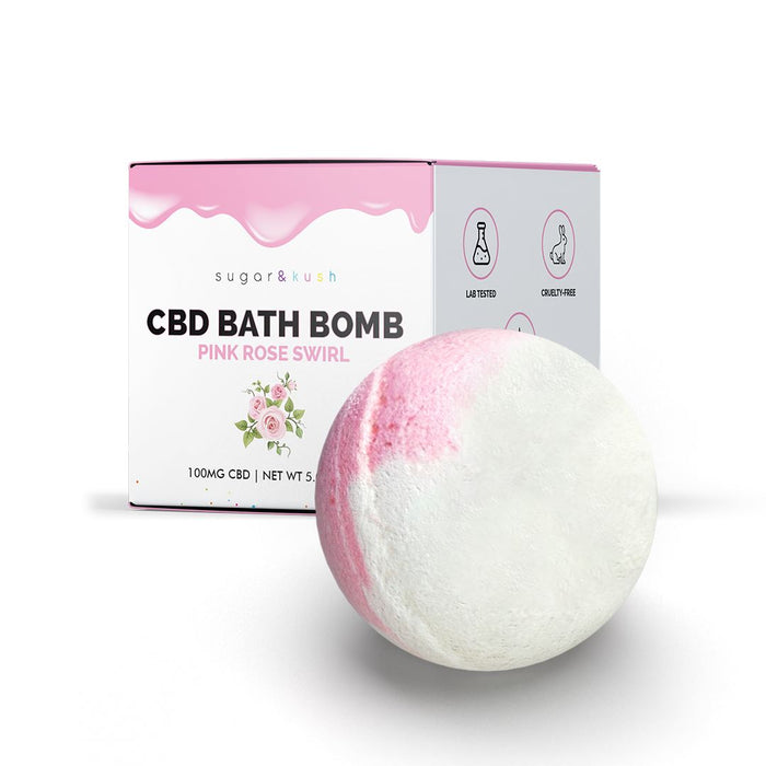 Shop the best Pink Rose CBD Bath Bomb and Hemp Bath Bombs from Sugar & Kush. Buy top-rated kush cbd oil with Sugar and Kush discounts.