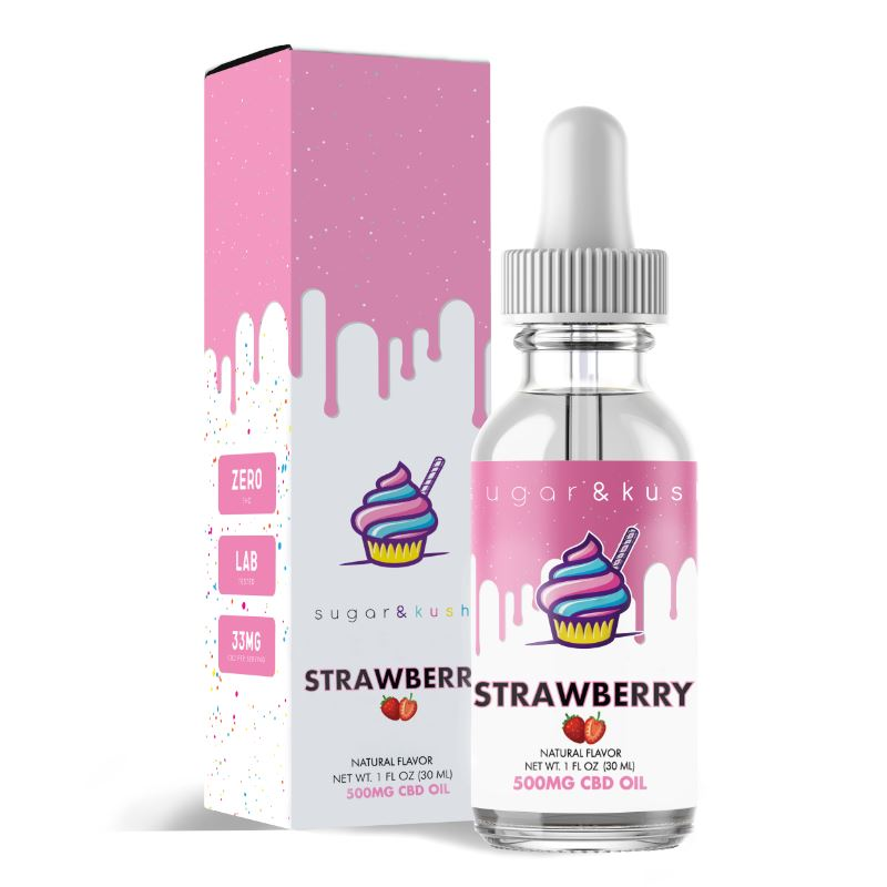 Strawberry CBD Oil