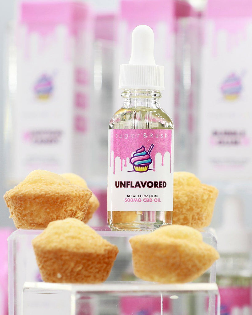 Unflavored Oil Drop - Sugar & Kush CBD Oil Products