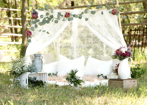 Meredith - Custom Lace 4x4 Tent