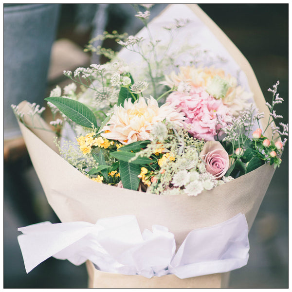 Romantic Wild Garden Bouquet - Friday Delivery Only