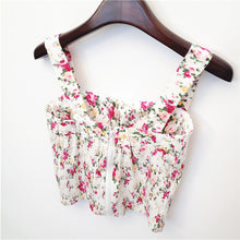 Load image into Gallery viewer, Fashion Basic Check/Floral/Plain Crop Top