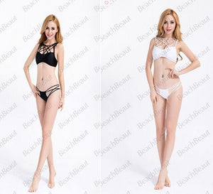 Hot Quality Hollow Out Two-piece Bikini Sets Swimsuits