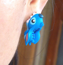 Load image into Gallery viewer, Handmade  stitch earring