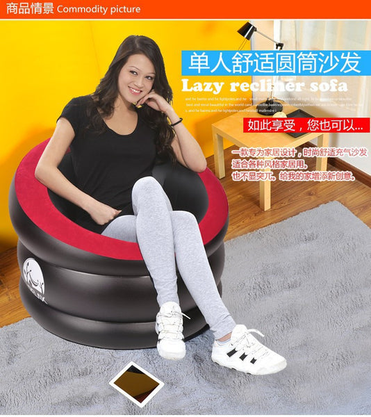 Lazy Recliner Inflatable Sofa Living Room Furniture