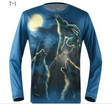 Load image into Gallery viewer, Printing T-shirt new 3D T-shirt autumn new digital printing T shirt man
