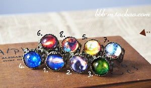 Eight big love Star Ring