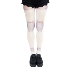 Load image into Gallery viewer, Halloween Skeleton Joint Print Tights