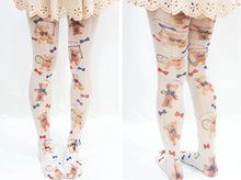Load image into Gallery viewer, Cute Little Bear Lolita Tights