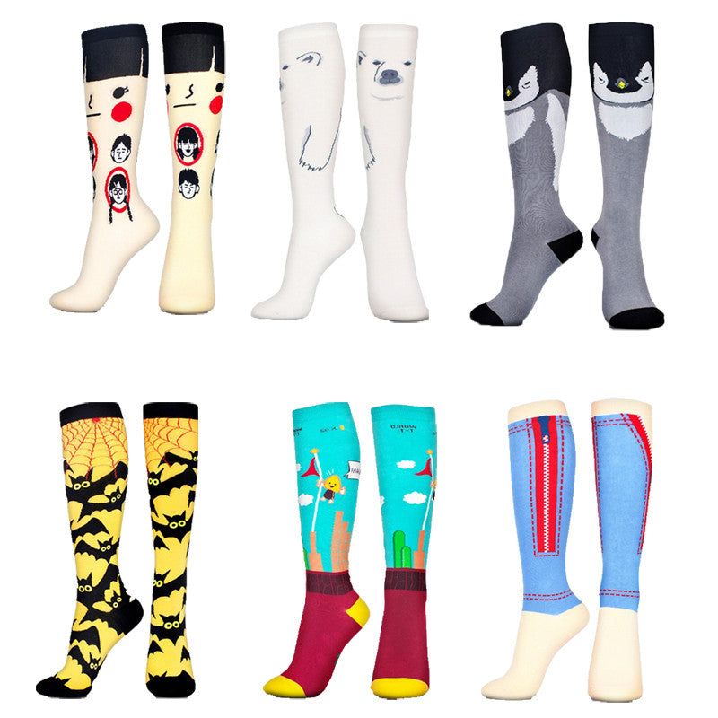 High Street Cotton Knee High Socks