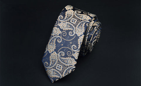 Korean Version of the Men's Fashion Waterproof Narrow Wedding Tie